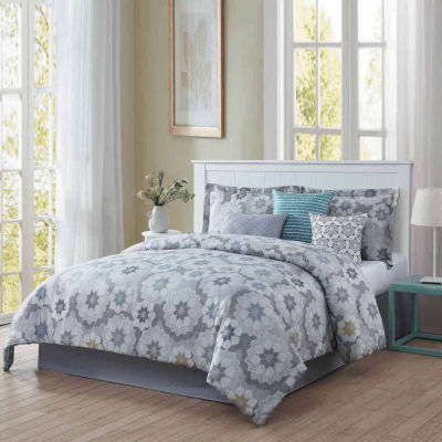 Studio 17 Splendid Reversible Microfiber 7-pc. Comforter Set