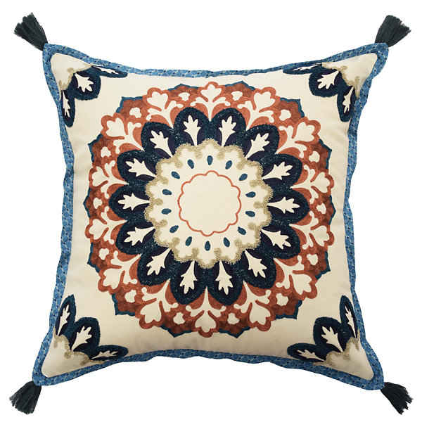 Waverly Castleford 16X16 Square Throw Pillow