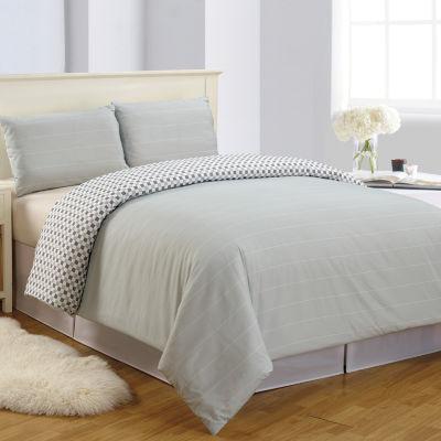 Lala+Bash Luna 2-pc. Reversible Comforter Set