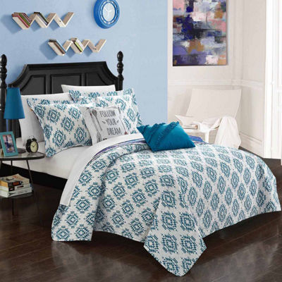 Chic Home Jaden 7-pc. Reversible Quilt Set