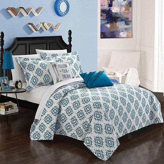 Chic Home Jaden 7-pc. Reversible Quilt Set