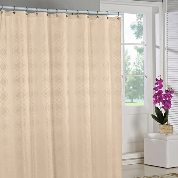 Duck River Crystal Jacquard Shower Curtain