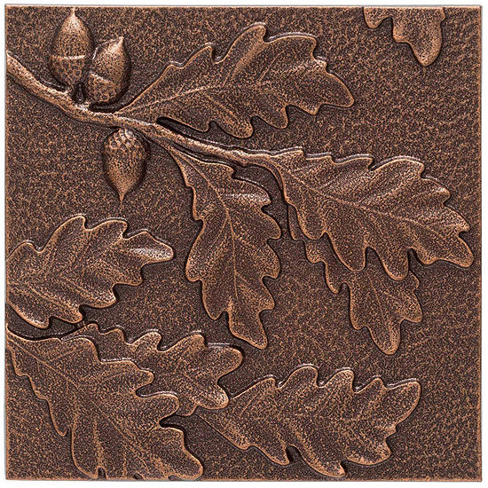 Whitehall Oak Aluminum Leaf Wall Décor