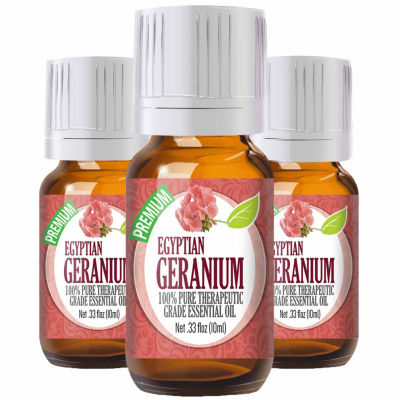 Healing Solutions Geranium Essential Oil