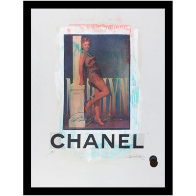Fairchild Paris Marilyn Monroe Chanel (719) Framed Wall Art