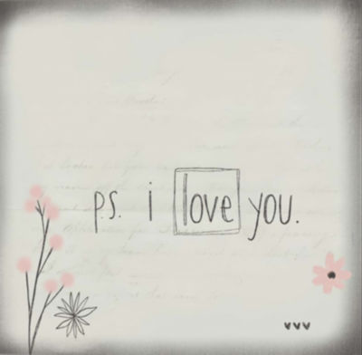 Metaverse Art PS I Love You Gallery Wrapped Canvas Wall Art