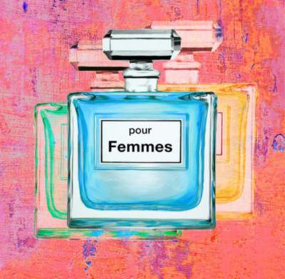 Metaverse Art Pour Femmes III Gallery Wrap Canvas Wall Art