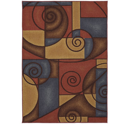 Mohawk Home Soho Refined Geometric Printed Rectangular Indoor Accent Rug