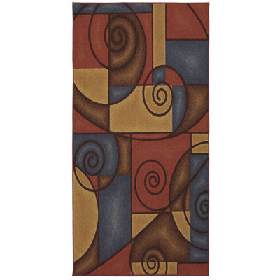Mohawk Home Soho Refined Geometric Printed Rectangular Rugs