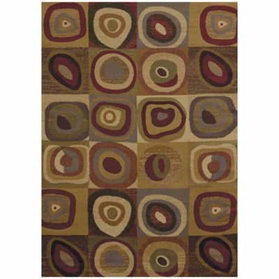 United Weavers Affinity Collection Seismic Rectangular Rug
