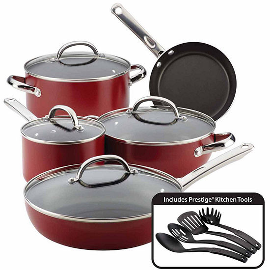 Farberware 13-pc. Aluminum Non-Stick Cookware Set