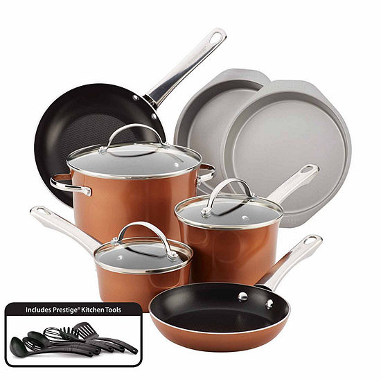 Farberware 16-pc. Aluminum Non-Stick Cookware Set