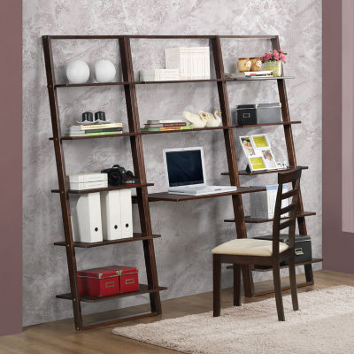 4D Concepts Arlington Wall Shelf With Desk