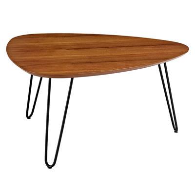 Hairpin Leg Wood Coffee Table
