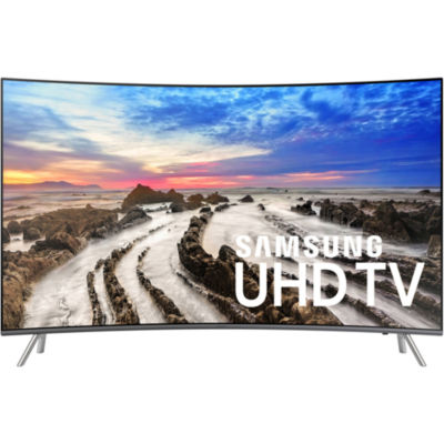 "Samsung Curved 55"" Class UHD 4K HDR LED Smart HDTV"