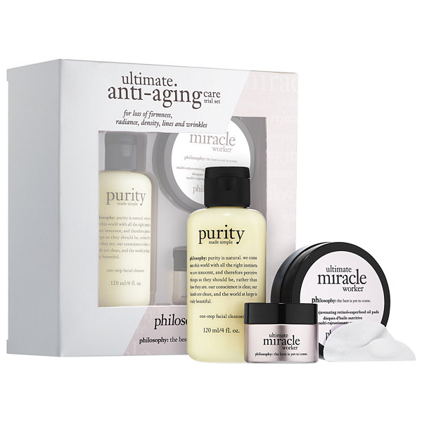 philosophy Ultimate Anti-Aging Care Trial Set