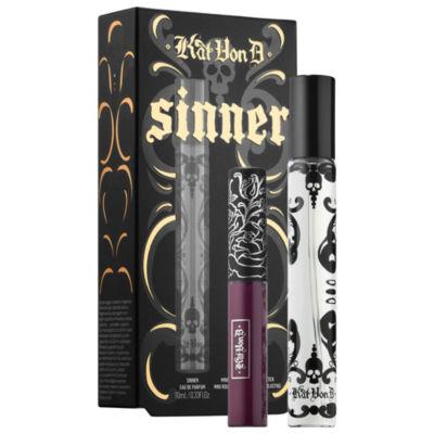Kat Von D Sinner Lipstick + Fragrance Travel Duo
