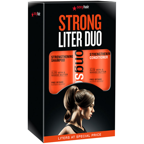 Sexy Hair Strong Liter Duo