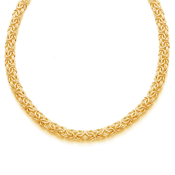 Made In Italy 14K Gold Over Silver 20 Inch Chain Necklace
