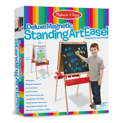 Melissa & Doug Deluxe Easel Magnetic Boards