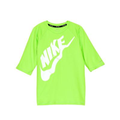 Nike Half Sleeve Rash Guard-Boys 8-20