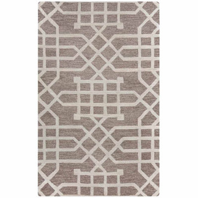 Rizzy Home Caterine Collection Adeline Geometric Rectangular Rugs
