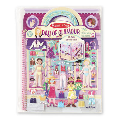 Melissa & Doug® Deluxe Puffy Sticker Album - Day of Glamour