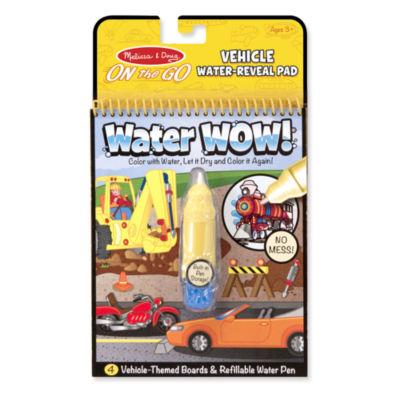 Melissa & Doug® Water Wow! - Vehicles