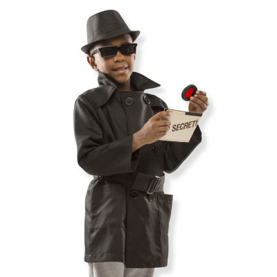 Melissa & Doug Spy Role Play Set Unisex Costume
