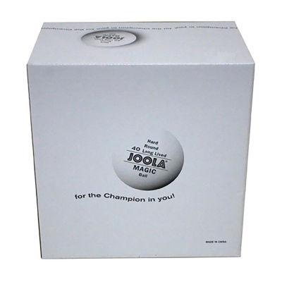 JOOLA Magic 2-Star Training Table Tennis Balls (144 Count) - White