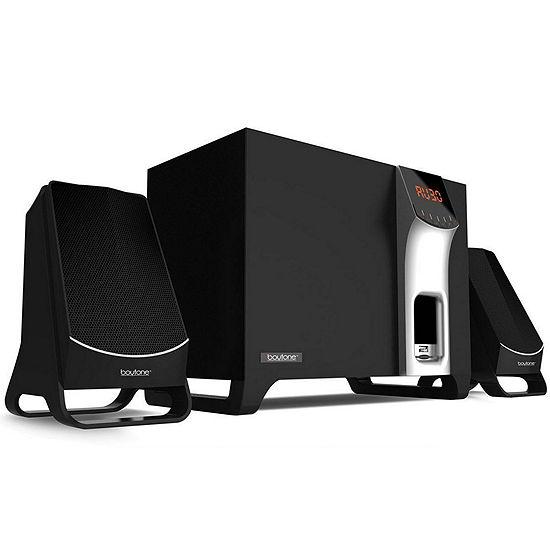 Boytone 2.1 Multimedia Speaker System with Bluetooth/SD/USB Connectivity