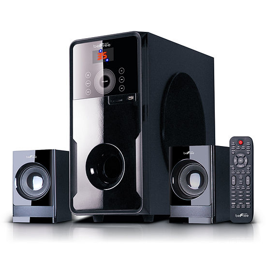 beFree Sound 2.1 Channel Surround Sound BluetoothSpeaker System