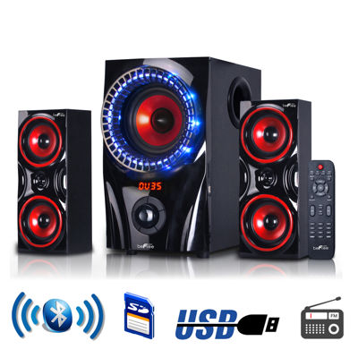 beFree 2.1 Channel Surround Sound Bluetooth Speaker System