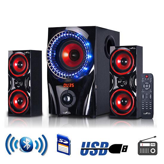 beFree 2.1 Channel Surround Sound Bluetooth Speaker System