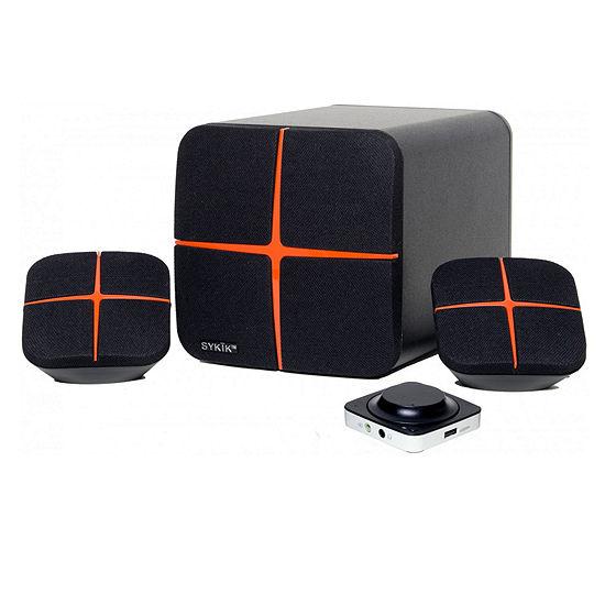 Sykik Powerful Bluetooth Multimedia 2.1 Speaker System