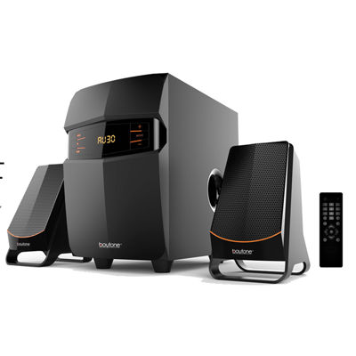 Boytone 2.1 Multimedia Speaker System with Bluetooth/SD/USB Connectivity