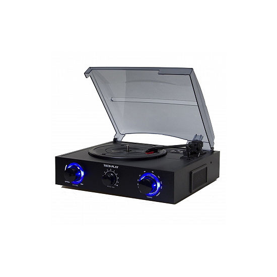 TechPlay 3 Speed Turntable with Pitch Control