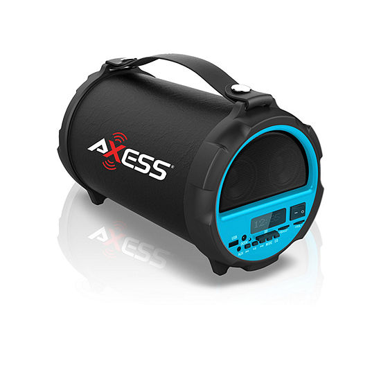 "Axess Indoor-Outdoor HIFI Bluetooth 2.1 Speaker with 4"" Subwoofer and Vibrationg Disk"""