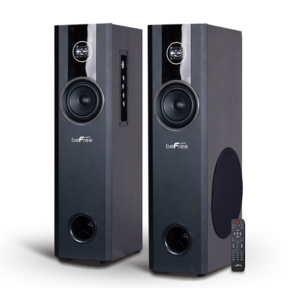 Befree sound 21 channel home theater bluetooth powered black befree sound 21 channel home theater bluetooth powered black tower speakers sciox Choice Image