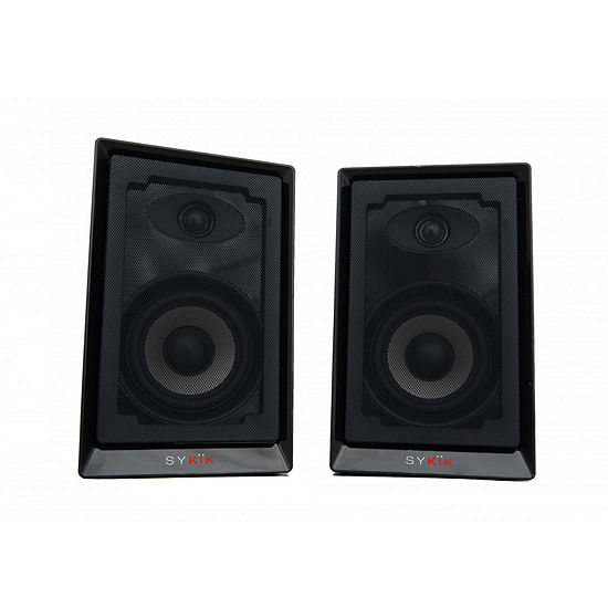 Sykik Powered Monitor Speakers with HD Sound and Wireless Bluetooth Connection