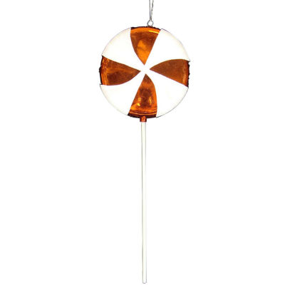 Large Candy Fantasy Orange Dreamsicle Lollipop Christmas Ornament Decoration 22""