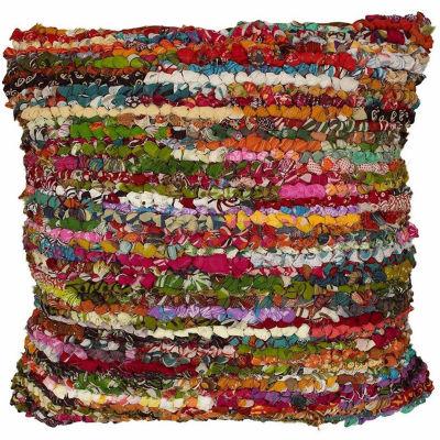 Motley Chindi Striped Throw Pillow
