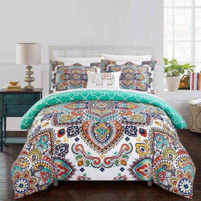 Chic Home Karen 8-pc. Duvet Cover Set