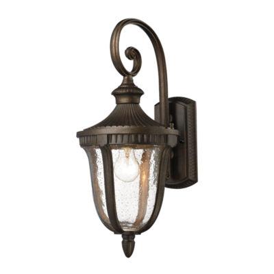 Worthington 1-Light Outdoor Sconce In Hazlenut Bronze