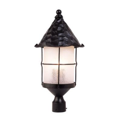 Rustica 3-Light Outdoor Post Lamp