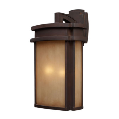Sedona 2-Light Outdoor Wall Sconce In Clay Bronze