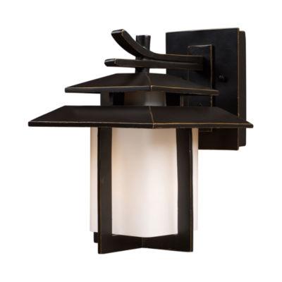Kanso 1-Light Outdoor Sconce In Hazlenut Bronze