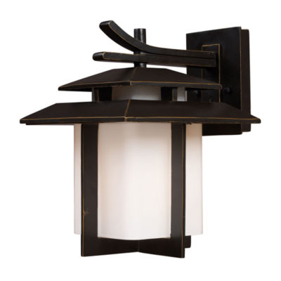 Kanso 1-Light Outdoor Sconce In Hazlenut Bronze