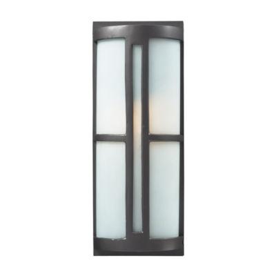 Trevot 1-Light Outdoor Sconce In Graphite