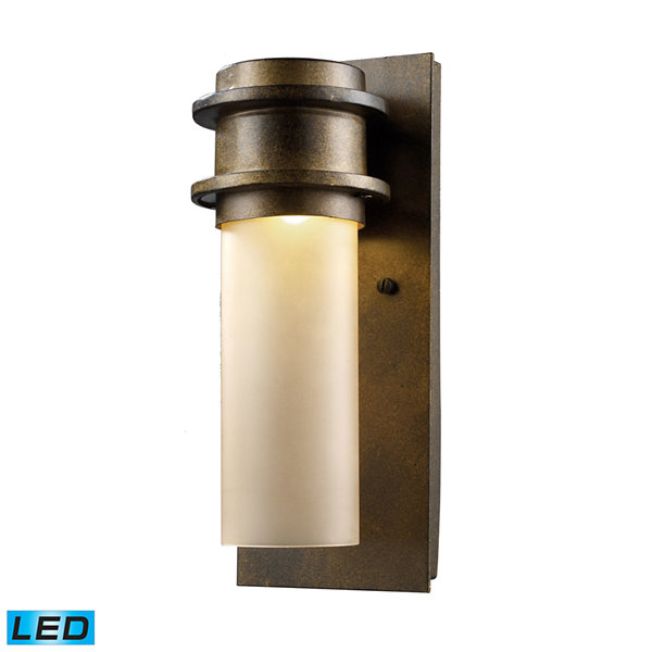 Freeport 1-Light Outdoor LED Wall Sconce In Hazelnut Bronze